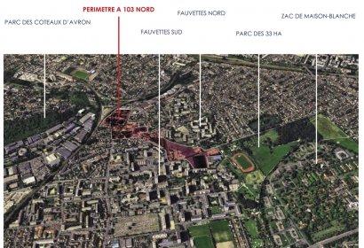 Les emprises de l'ex A103 à Neuilly-sur Marne : un corridor écologique à préserver