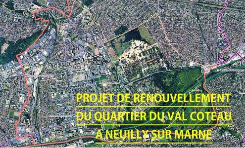 Val Coteau / Les Fauvettes - Neuilly-sur-Marne : préserver la trame verte